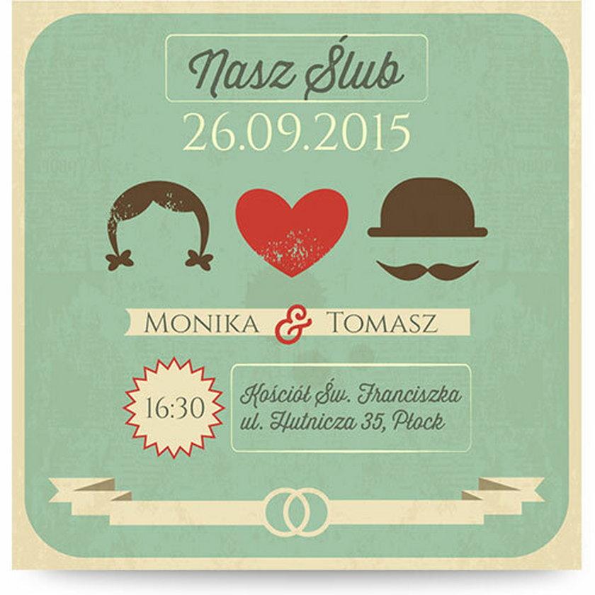 Zaproszenie ślubne, Magnet Cards