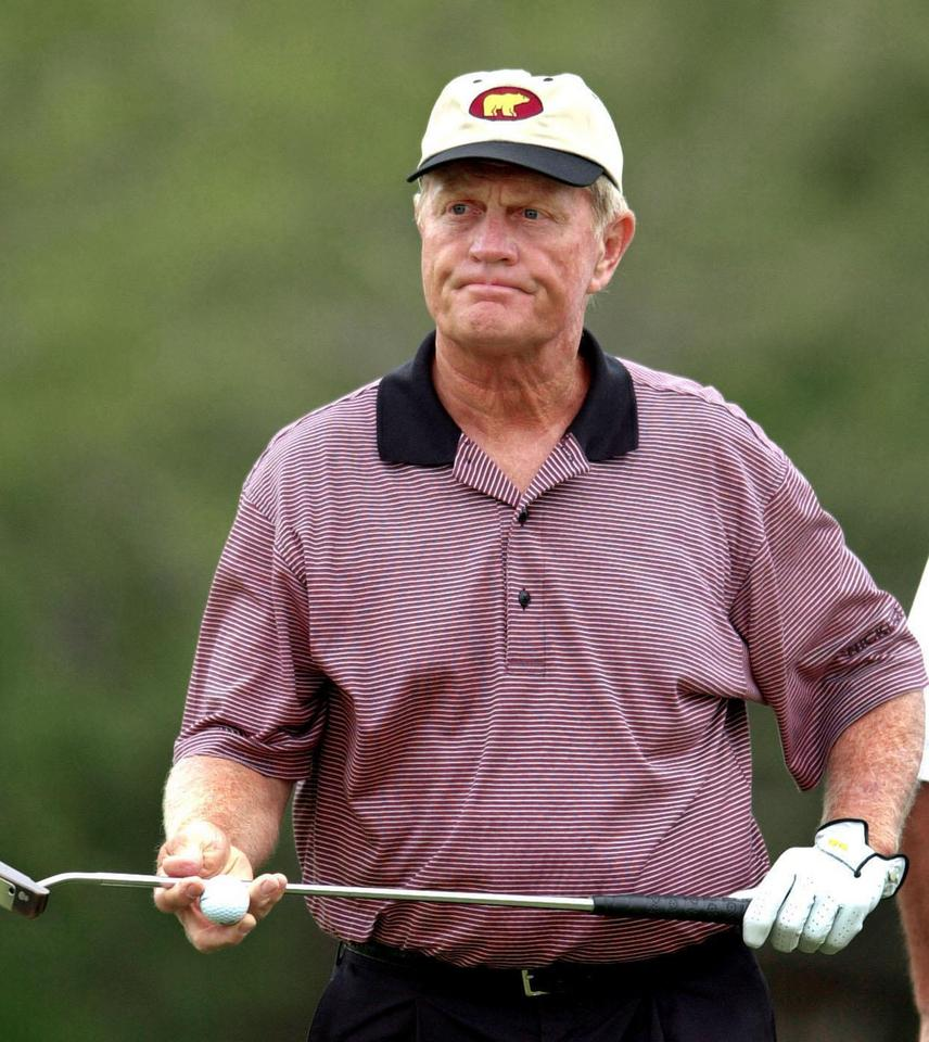 8. Jack Nicklaus (golf) – 15,1 mln dol.