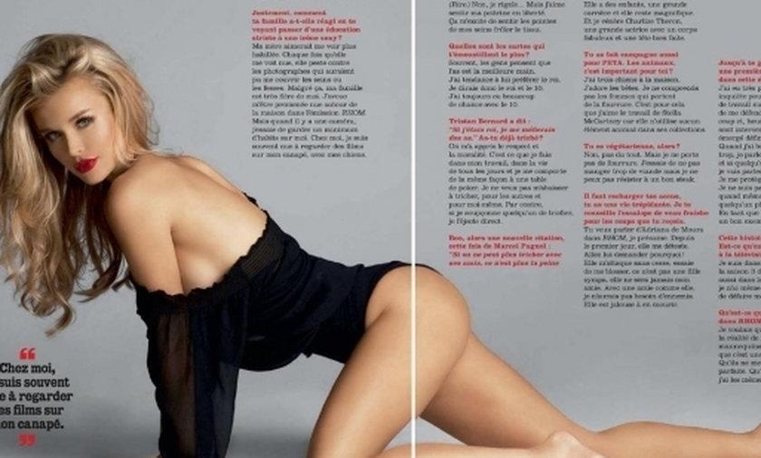 Joanna Krupa na okładce FHM