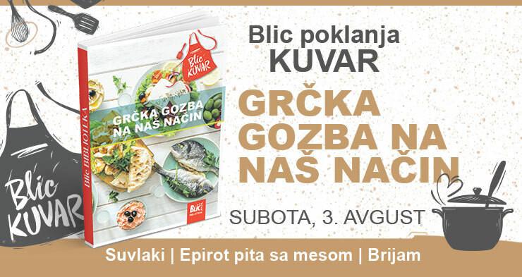 Pokon kuvar uz Blic, najbolja jela grčke kuhinje