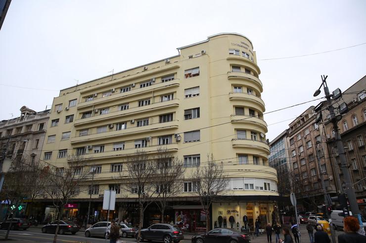 Zgrada u kojoj su živeli Desanka Maksimović i Branko Ćopić