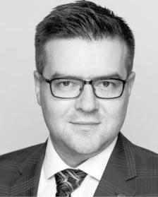 Bartosz Groele adwokat, partner w kancelarii Tomasik, Pakosiewicz, Groele, pełnomocnik upadłej