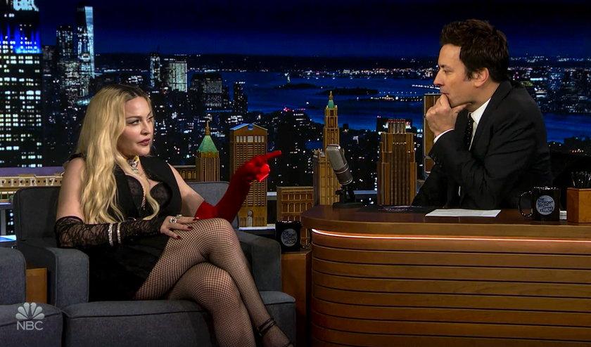 Madonna znowu szokuje. Wywołała skandal w popularnym talk-show