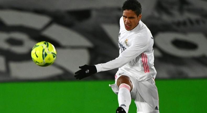 Old Trafford bound - Real Madrid's Raphael Varane is about to move to Manchester United, according to British media reports Creator: GABRIEL BOUYS