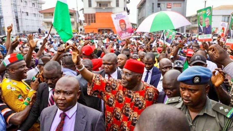 Public schools shut, heavy traffic as Atiku campaigns in Enugu
