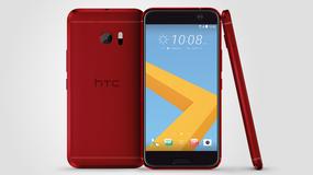 HTC 10 w kolorze kameliowej czerwieni