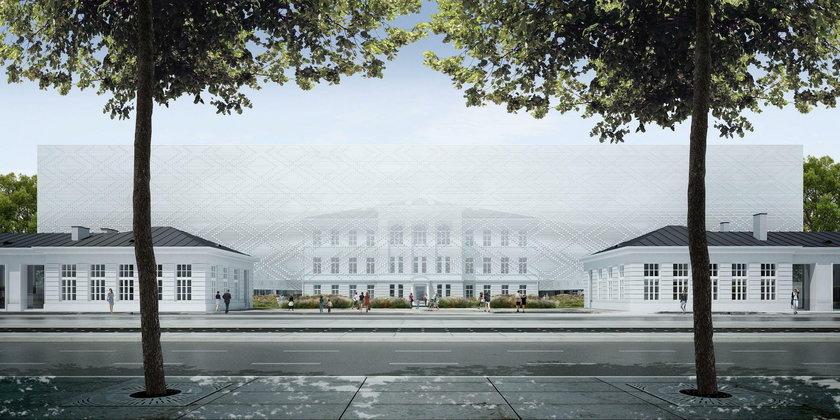 Budowa Sinfonii Varsovii