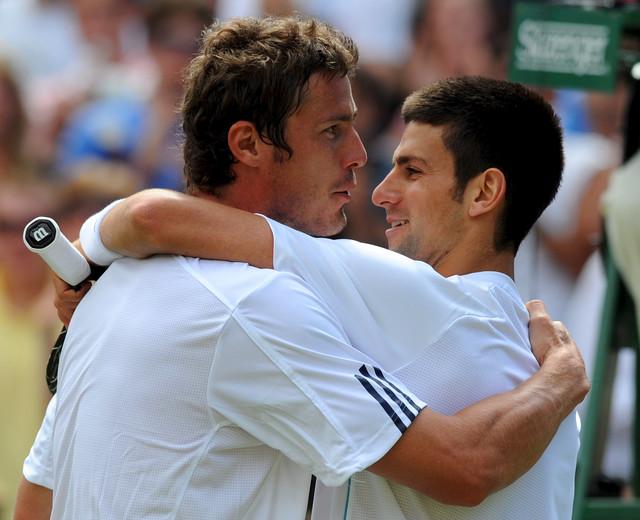 Novak Đoković i Marat Safin