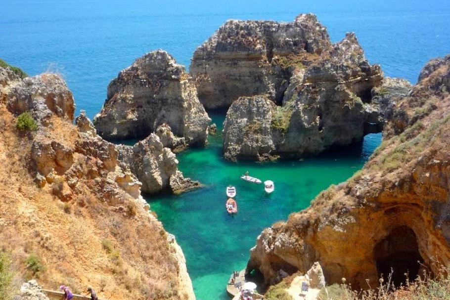 Ponta da Piedade, Lagos, the Algarve - Portugal
