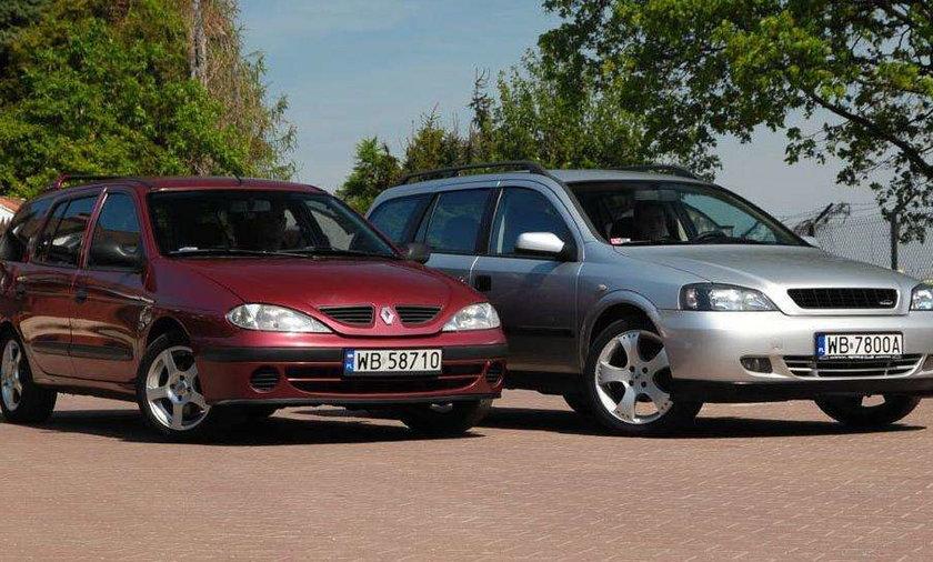 Opel Astra II 1.6 kontra Renault Megane 1.6