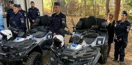 Policjanci dostali quady!