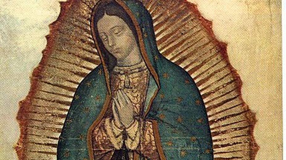 Obraz Madonny z Guadalupe - domena publiczna