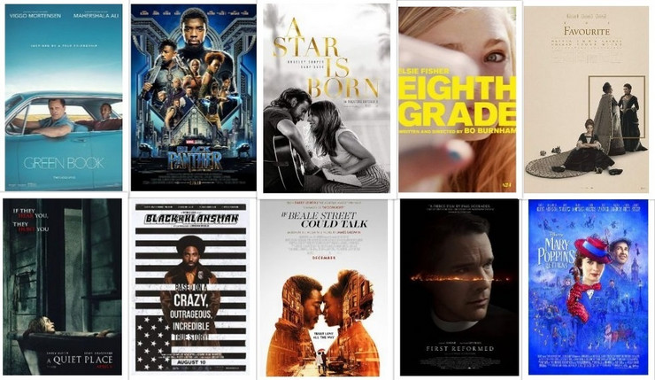 afi to 10 film