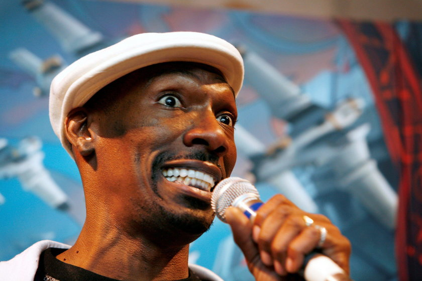 """FILE PHOTO - Charlie Murphy, brother of actor Eddie Murphy, poses at the premiere of the comedy """"Nor"""