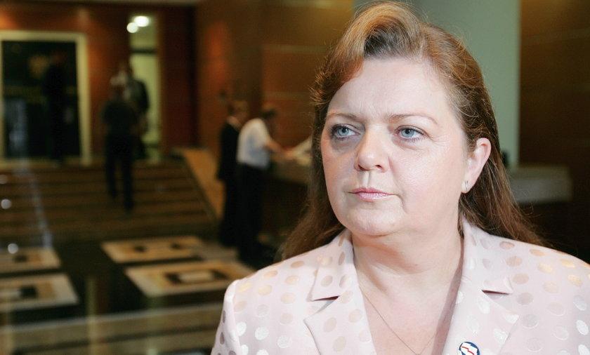 Była posłanka Samoobrony Renata Beger.