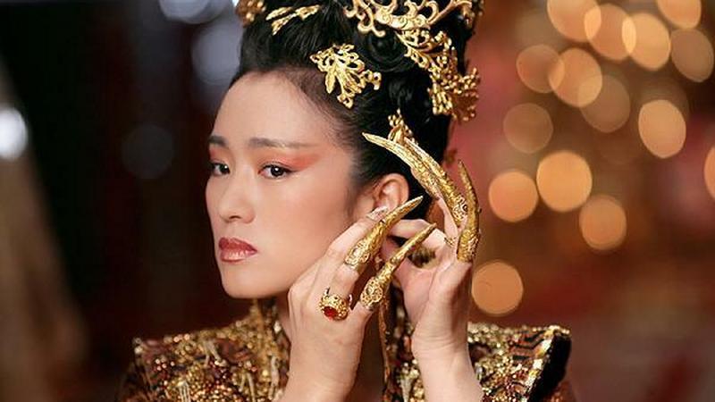 """Gong Li w filmie """"Cesarzowa"""" (reż. Zhang Yimou)"""