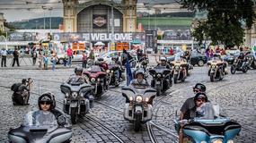 Do czeskiej Pragi przyjedzie 70 tys. motocykli Harley-Davidson, by uczcić 115 rocznicę legendarnej marki
