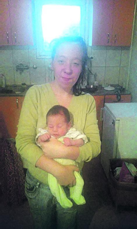 sabo nije imao milosti prema svojoj ćerki, bebi od tek četiri meseca, i supruzi Slavici