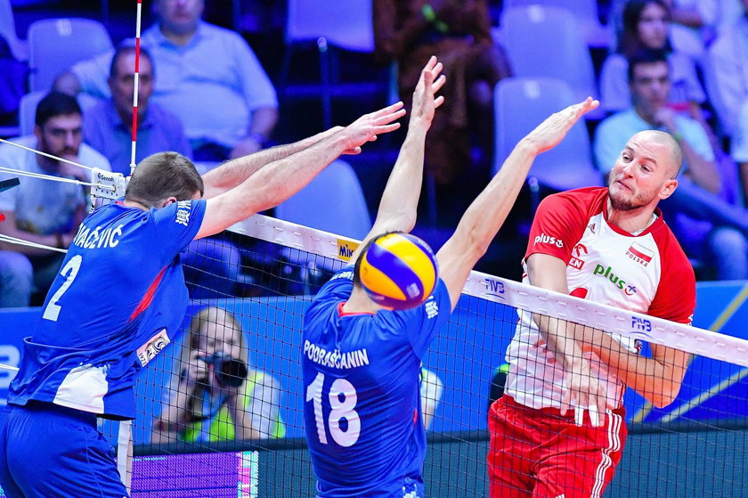 27.09.2018 SIATKOWKA - POLSKA - SERBIA - FIVB VOLLEYBALL MEN'S WORLD CHAMPIONSHIP 2018