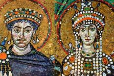 Car Justinijan i carica Teodora