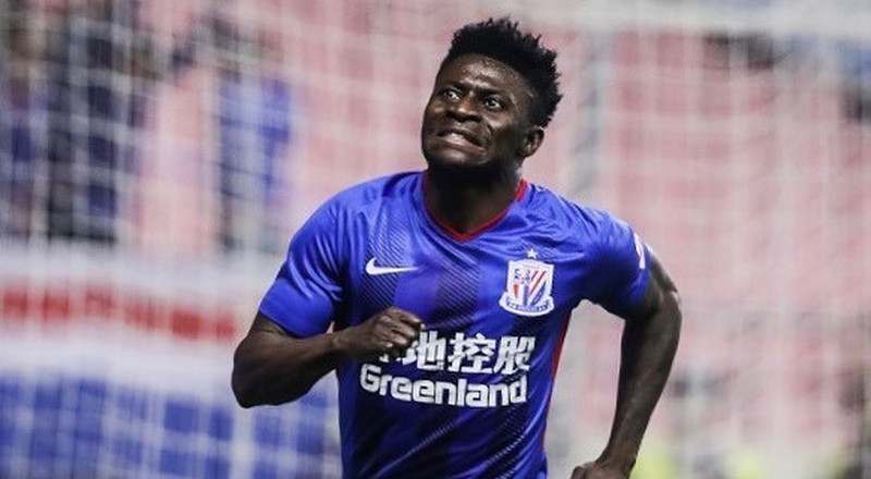 Obafemi Martins on the verge of rejoining Shanghai Shenhua to fill Odion Ighalo's void