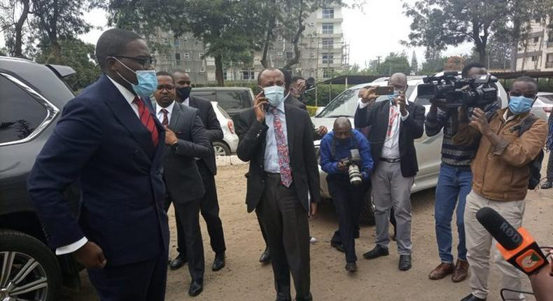 Nairobi Senator Johnson Sakaja sentenced to 3 months in prison with option of Sh15,000 cash fine after pleading guilty to flouting Covid19 rules
