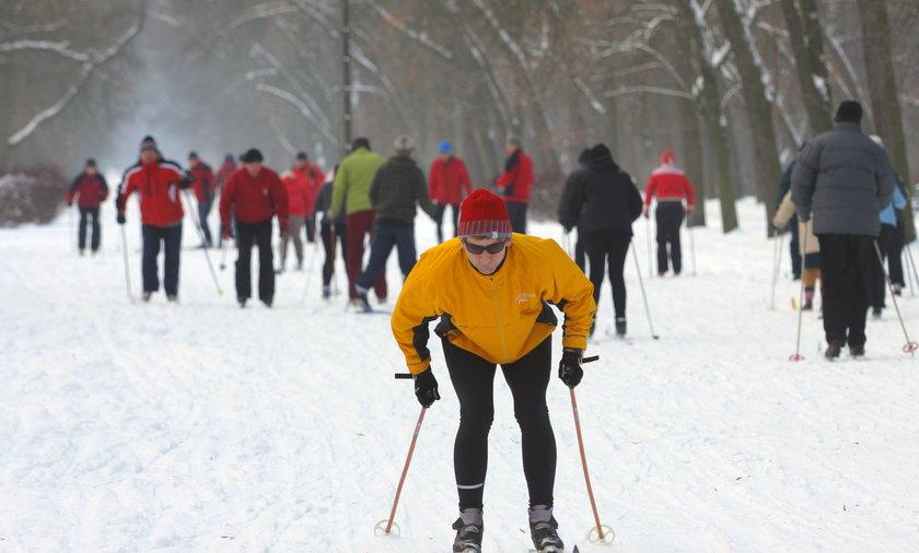 zajęcia narciarstwa w Łodzi