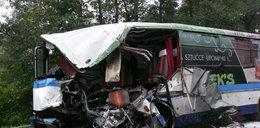 Tragiczny wypadek PKS-u. Są zabici i ranni
