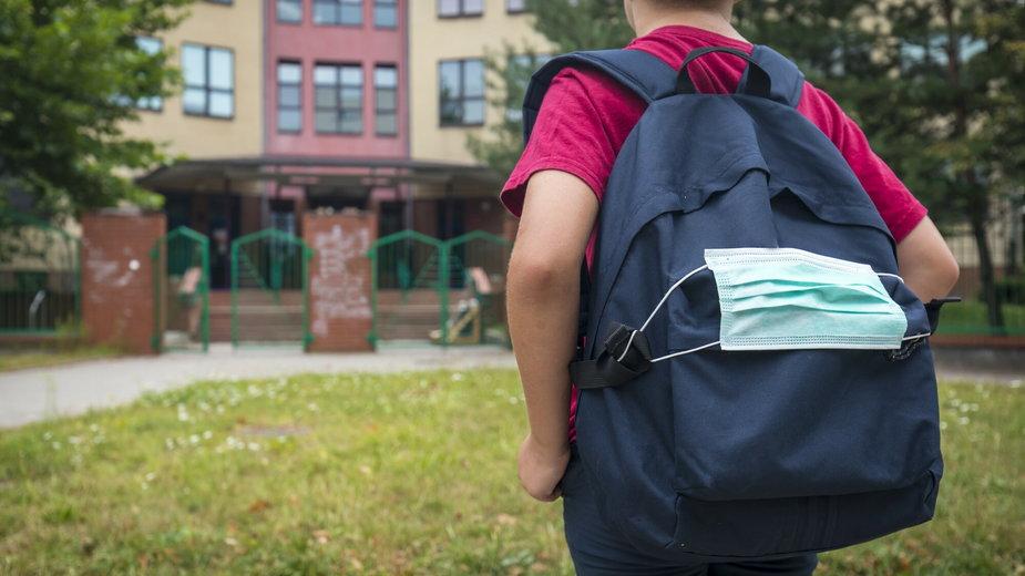 Rodzice nie chcą, by dzieci nosiły maseczki w trakcie lekcji