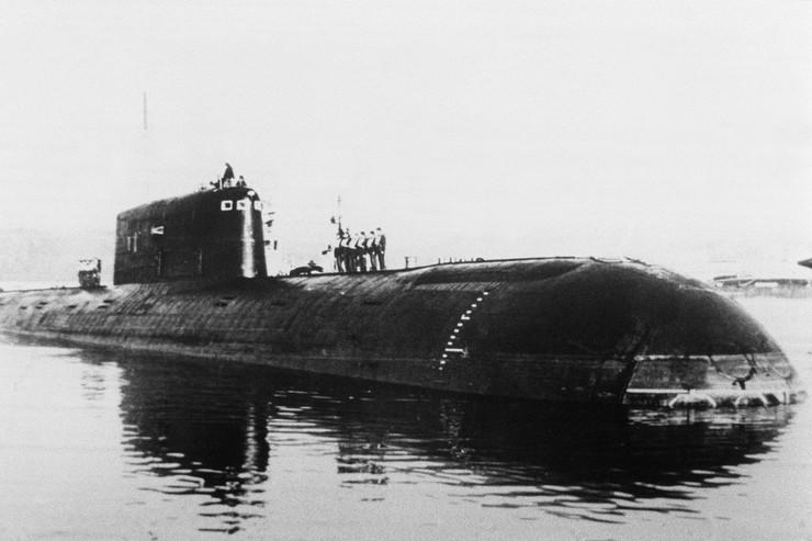 sovjetska podmornica komsomolec
