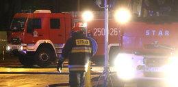 Pożar ciężarówki zablokował drogę do Łodzi