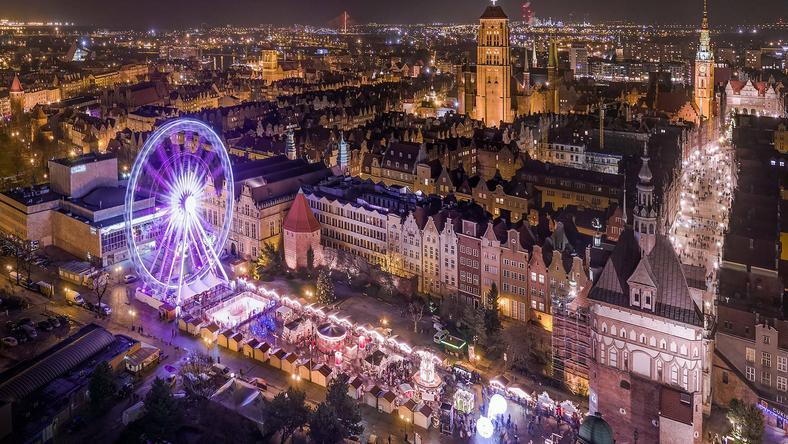 Świąteczne iluminacje w polskich miastach