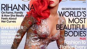 "Ponętna Rihanna na okładce ""Vogue'a"""