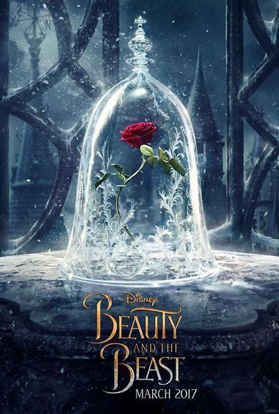 """""""Piękna i Bestia"""" - plakat filmu"""