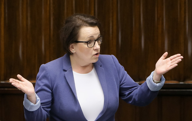 Minister edukacji narodowej Anna Zalewska przedstawiła podczas posiedzenia Sejmu