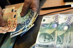 Raste vrednost dinara, kurs 118,26