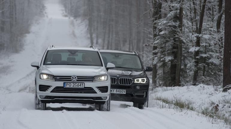 BMW X5 kontra VW Touareg - Spotkanie na szczycie