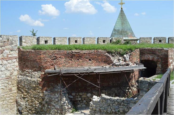 radovi beogradska tvrđava kalemegdan