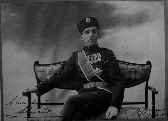 Aleksandar Karađorđević 1904. godine