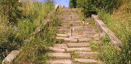 Osiedlowi radni chcą remontu schodów