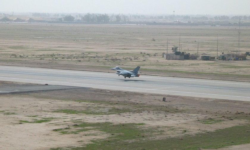 Atak moździerzowy na amerykańską bazę w Iraku
