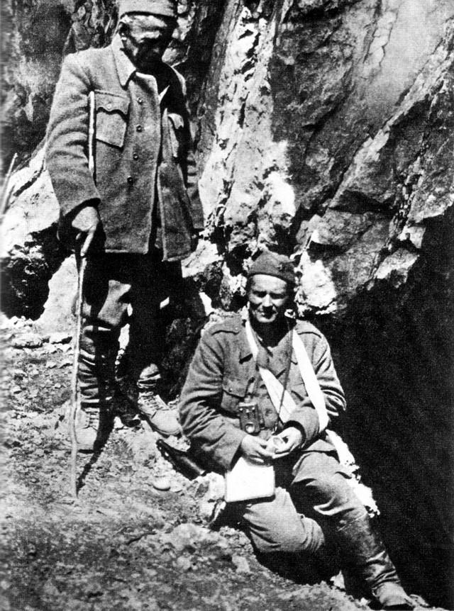Ivan Ribar i Josip Broz Tito