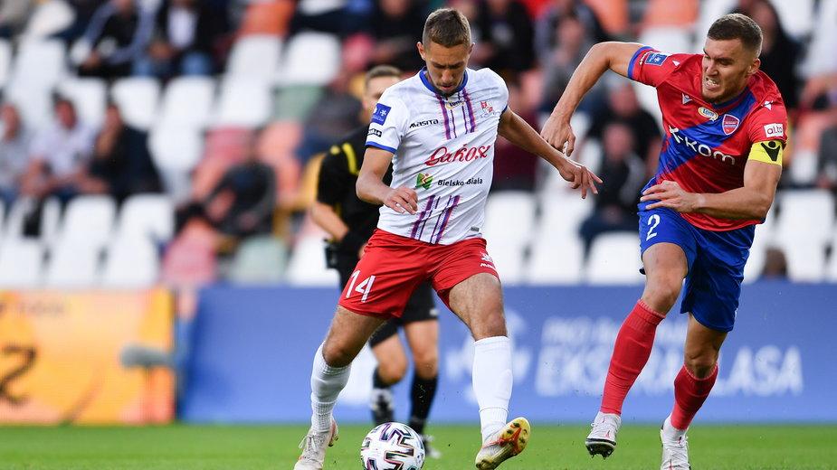 Laskowski rozpoczął od pierwszej minuty mecz ostatniej kolejki ze Stalą Mielec. Rozegrał też 71 minut przeciwko Rakowowi (1:4), ale wtedy zastąpił brutalnie sfaulowanego przez Macieja Wilusza Maksymiliana Sitka.