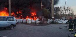 Przez dzieciaki spłonęła sterta odpadów w Bytomiu?
