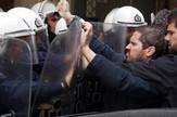 Grčka Solun protest demonstracije policija EPA Alexandros Beltes