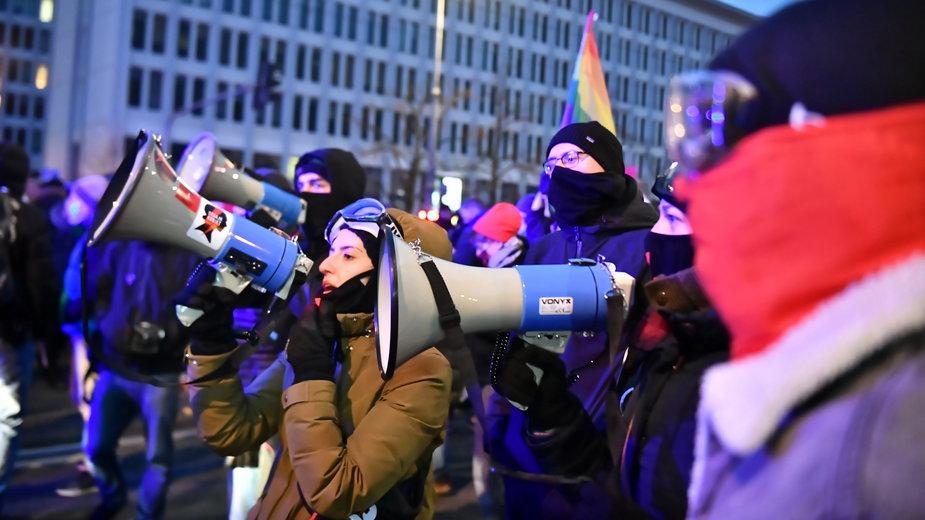 Demonstracja w Warszawie, 28.11.2020