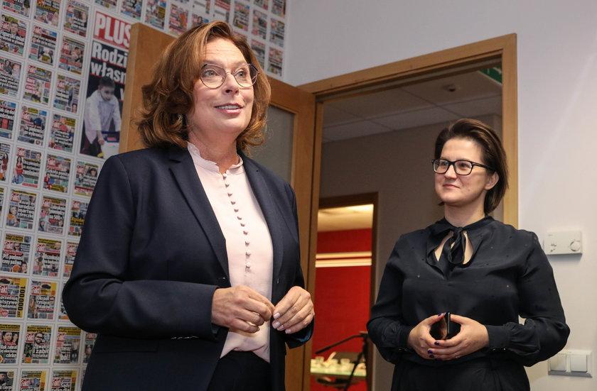 Małgorzata Kidawa-Błońska i redaktor naczelna Faktu Katarzyna Kozłowska