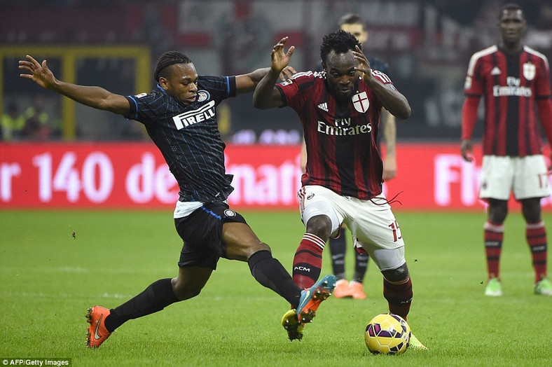 A goal against Milan at San Siro was one of Joel Obi;s highlights at Inter (AFP/Getty Images)