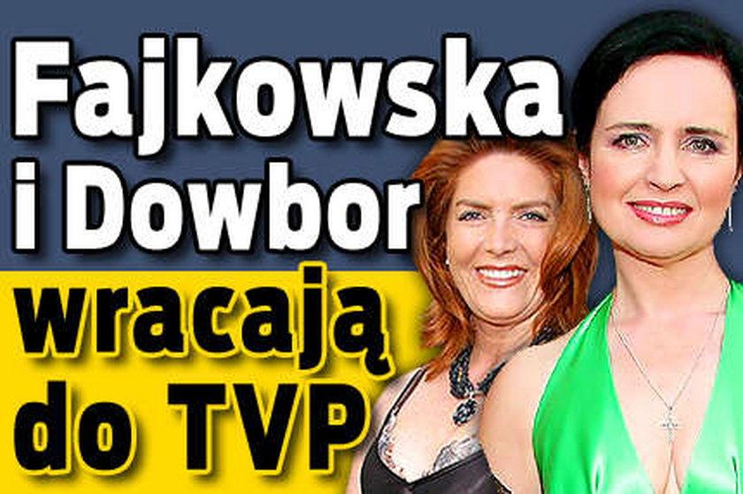 Dowbor i Fajkowska wracają do TVP