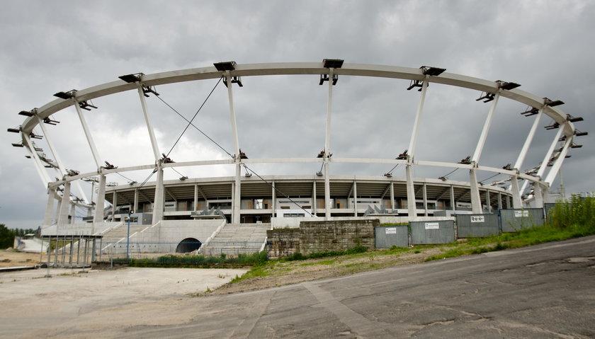 Stadion Śląski w przebudowie